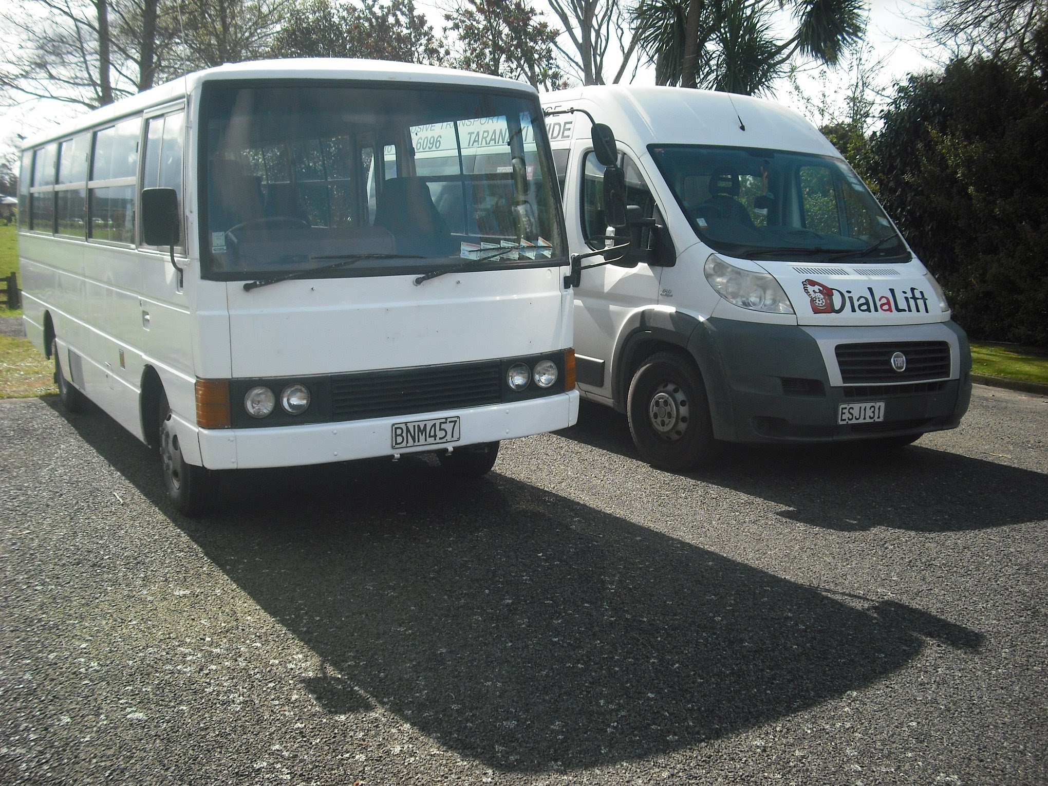 Dial A Lift van and bus
